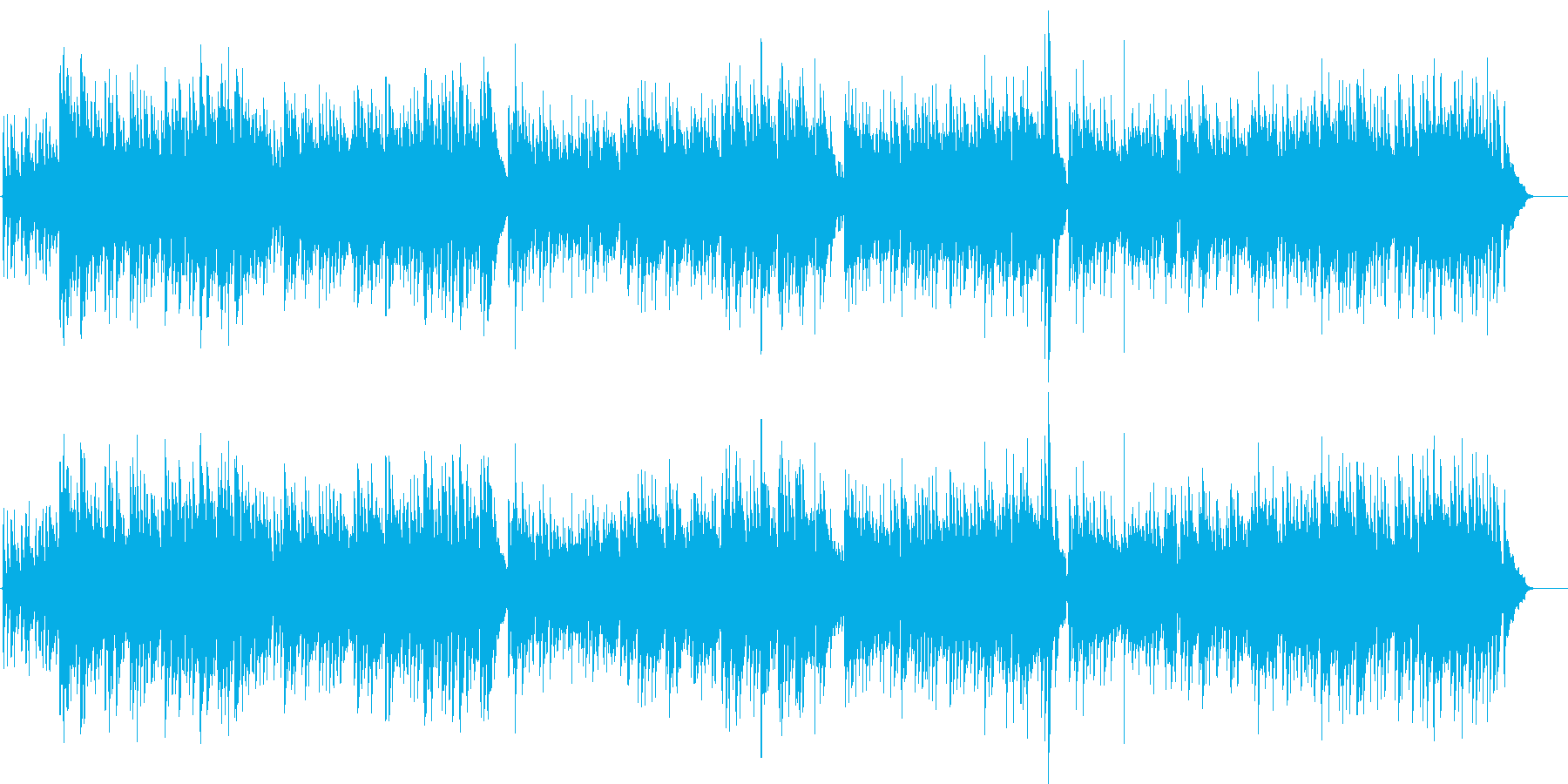 森のくまさん 民謡 アコギ カントリーの再生済みの波形