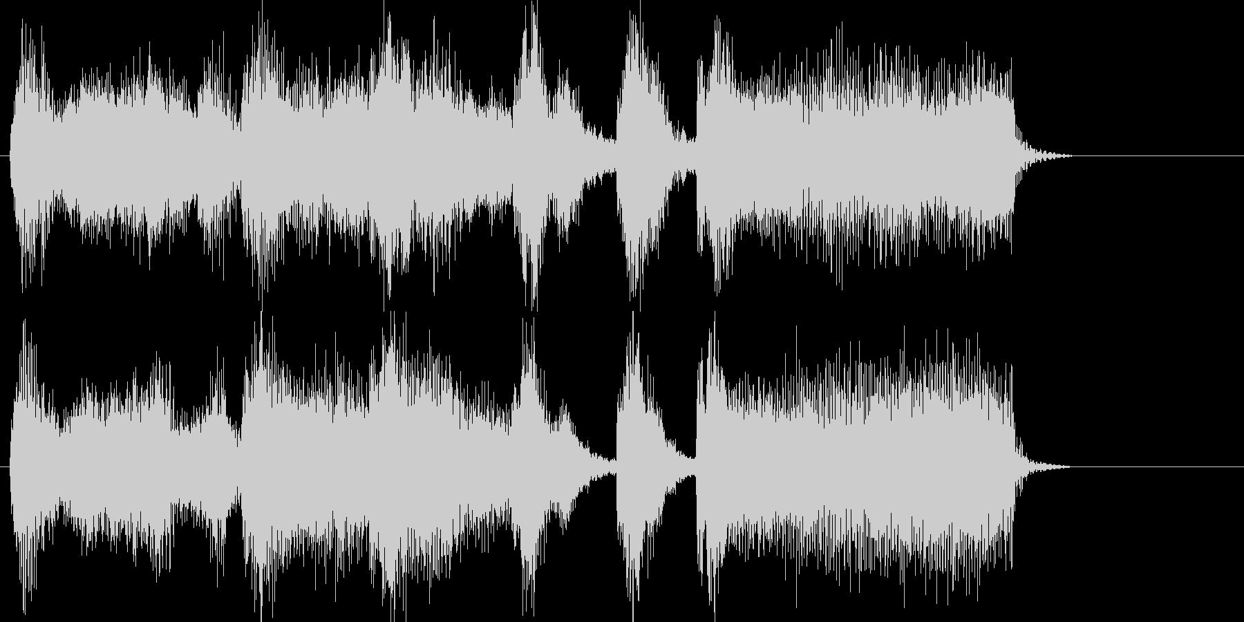 オーケストラジングルアイキャッチの未再生の波形