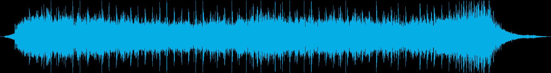 和楽器を主に利用したテーマの再生済みの波形