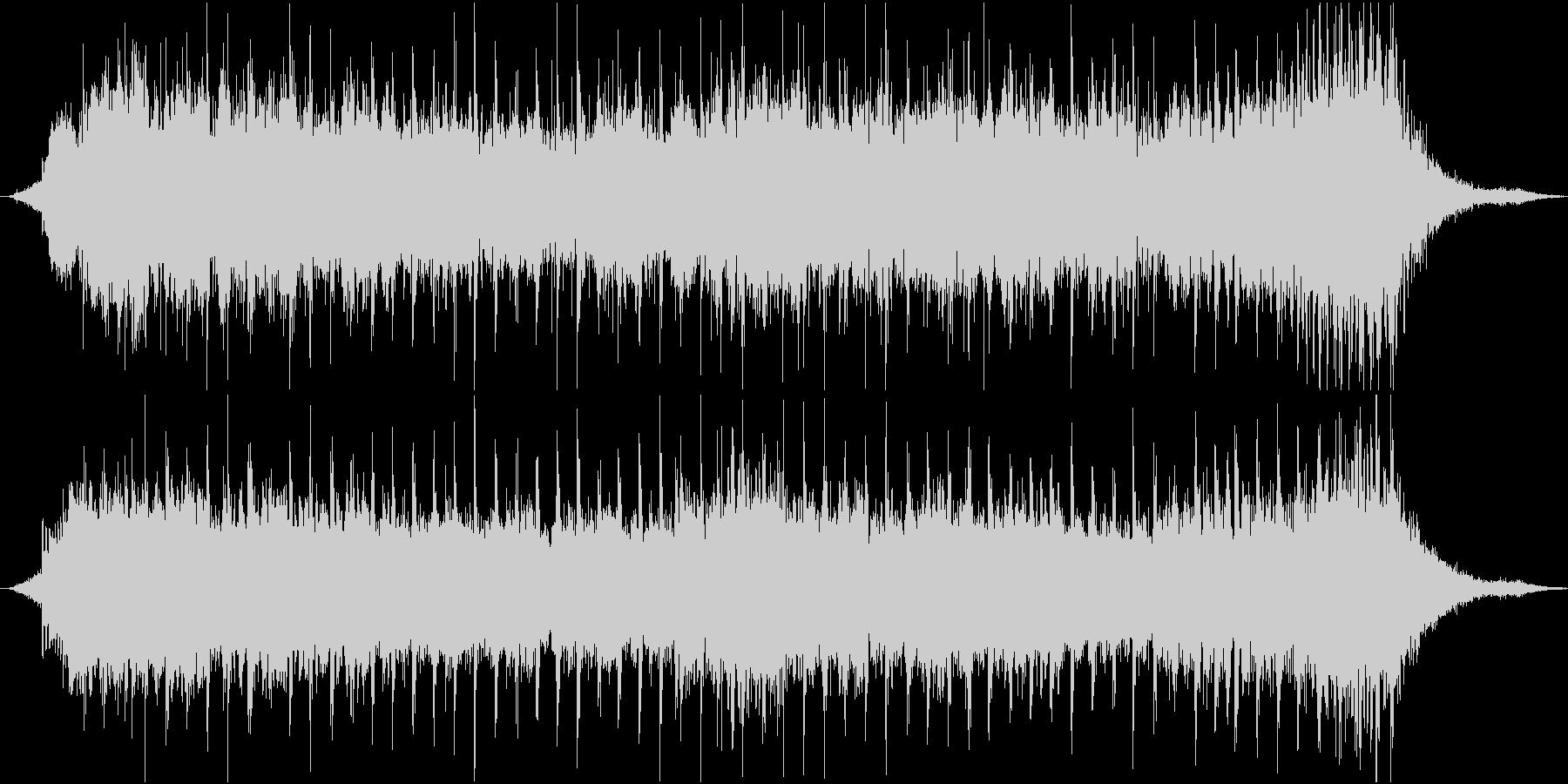 和楽器を主に利用したテーマの未再生の波形