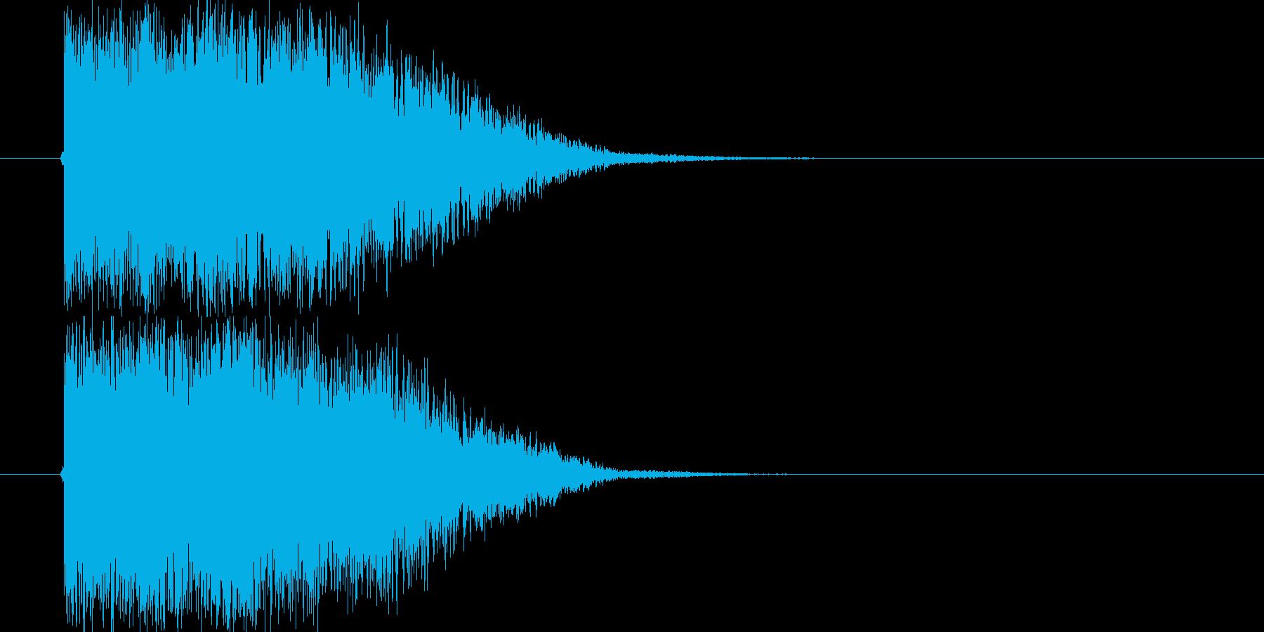 タイトル_ロゴ表示の再生済みの波形