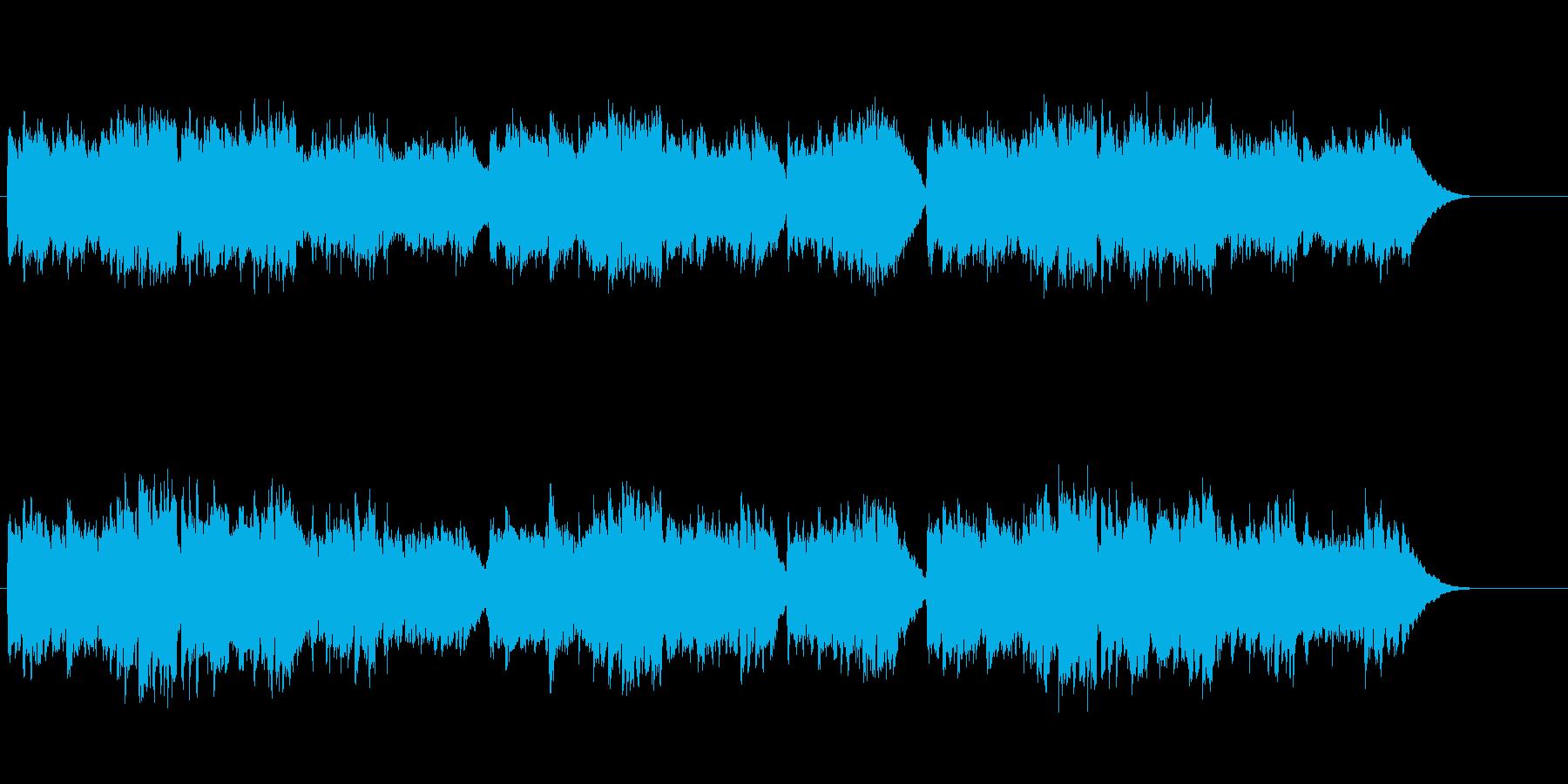 歴史ある宮殿の優美なクラシック/バロックの再生済みの波形