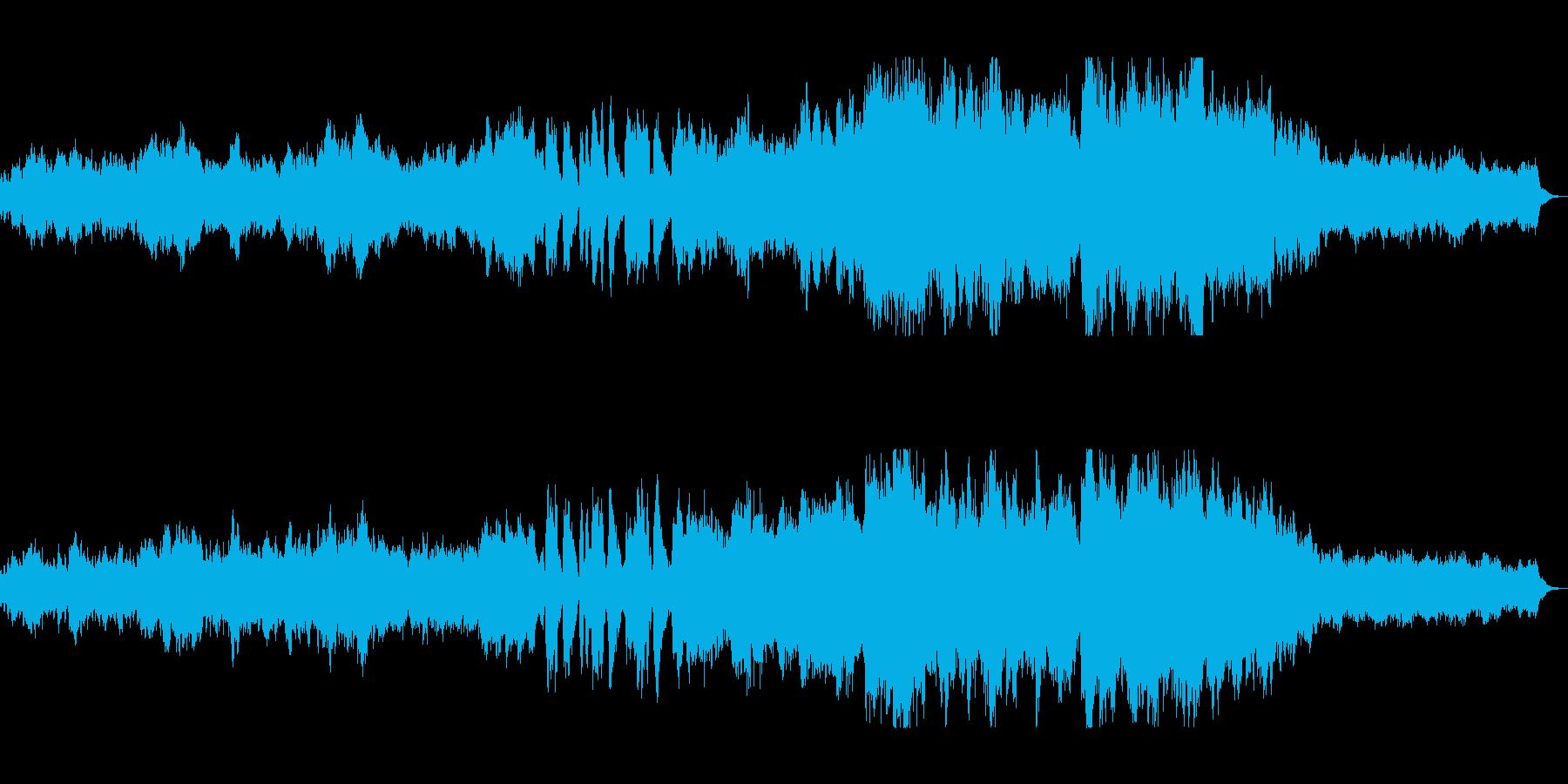 ゆったりとした幻想的なイージーリスニングの再生済みの波形
