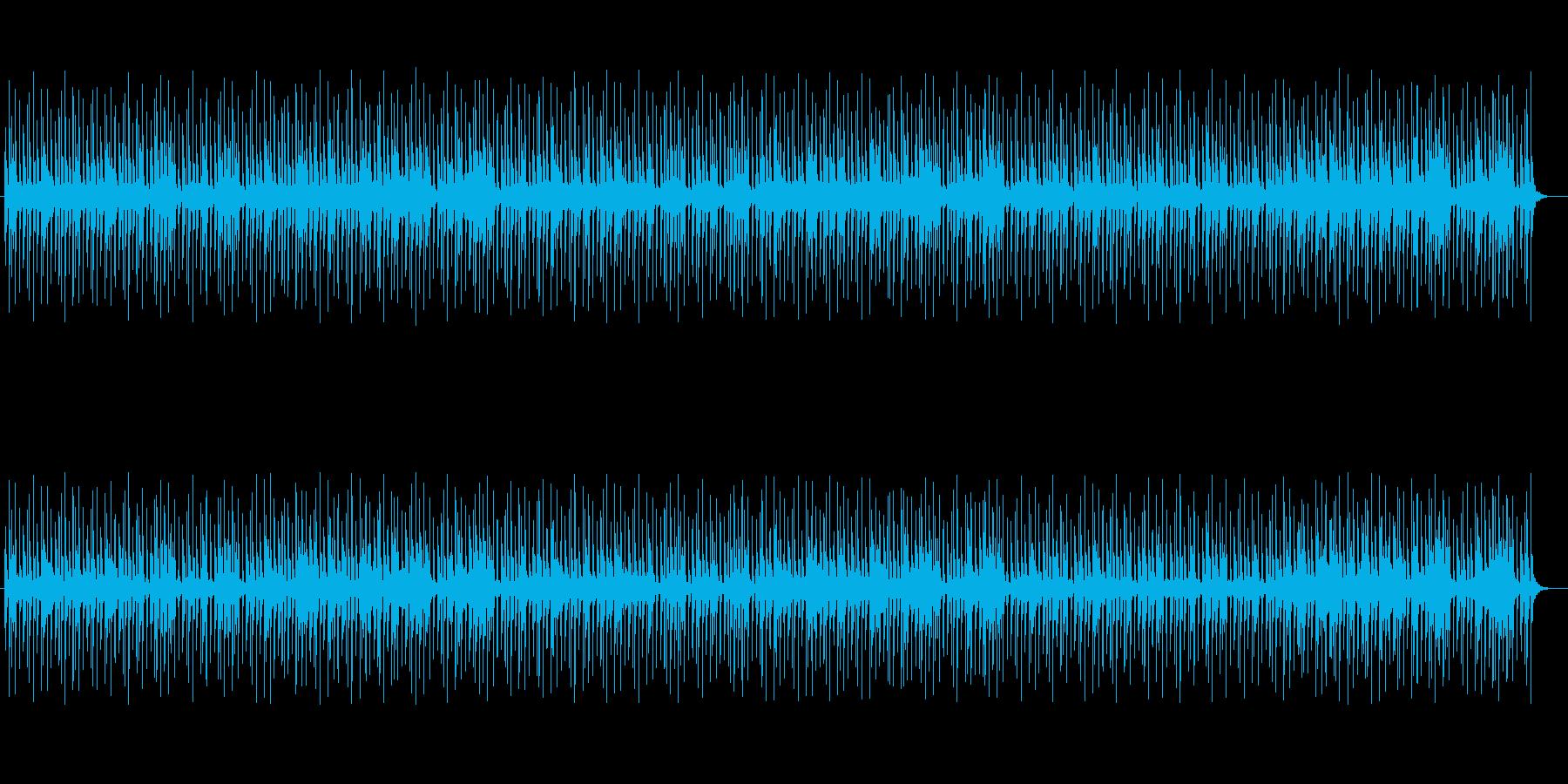 神秘的に響き渡るミュージックの再生済みの波形