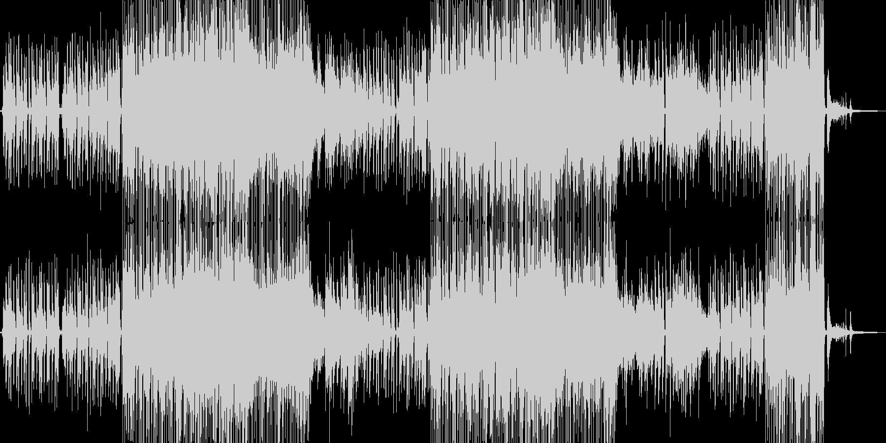 片想いイメージのポップスの未再生の波形