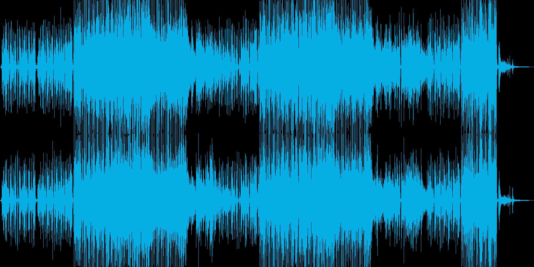 片想いイメージのポップスの再生済みの波形