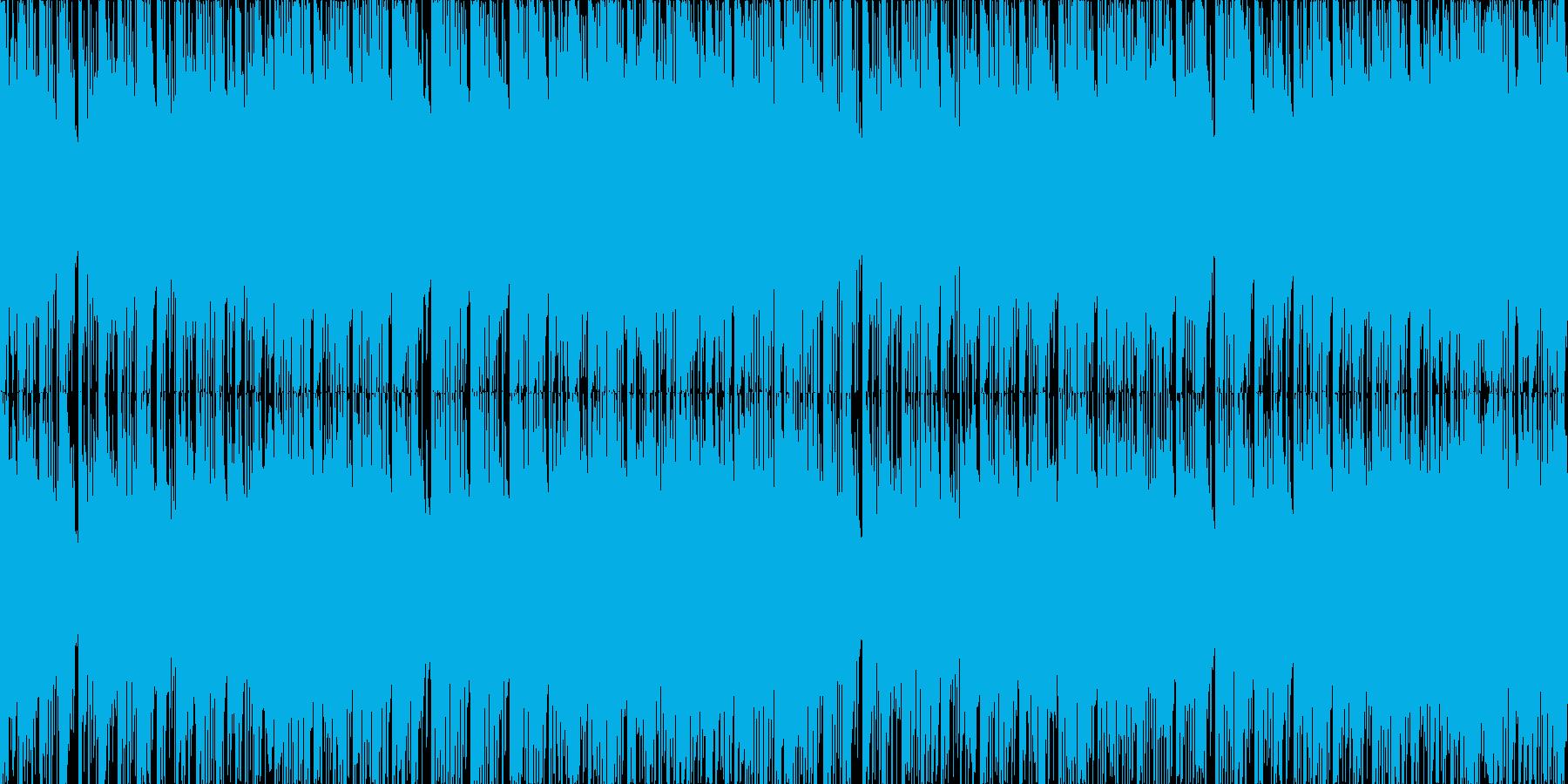 ループ使用可能な戦闘曲です。パズルゲー…の再生済みの波形