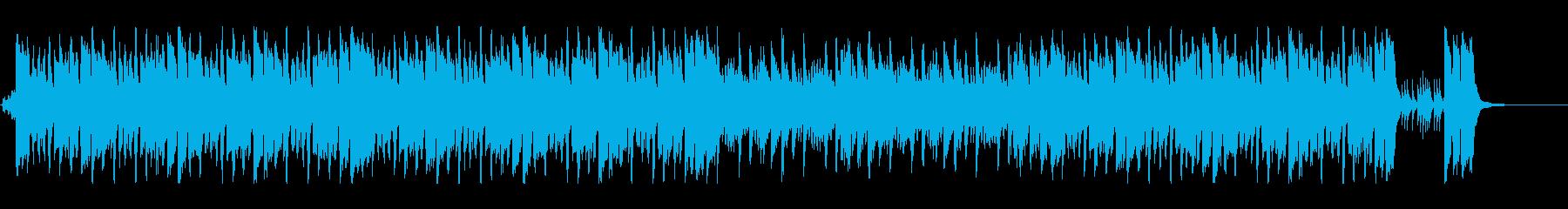 ハッピー感が溢れ出すキュートポップの再生済みの波形