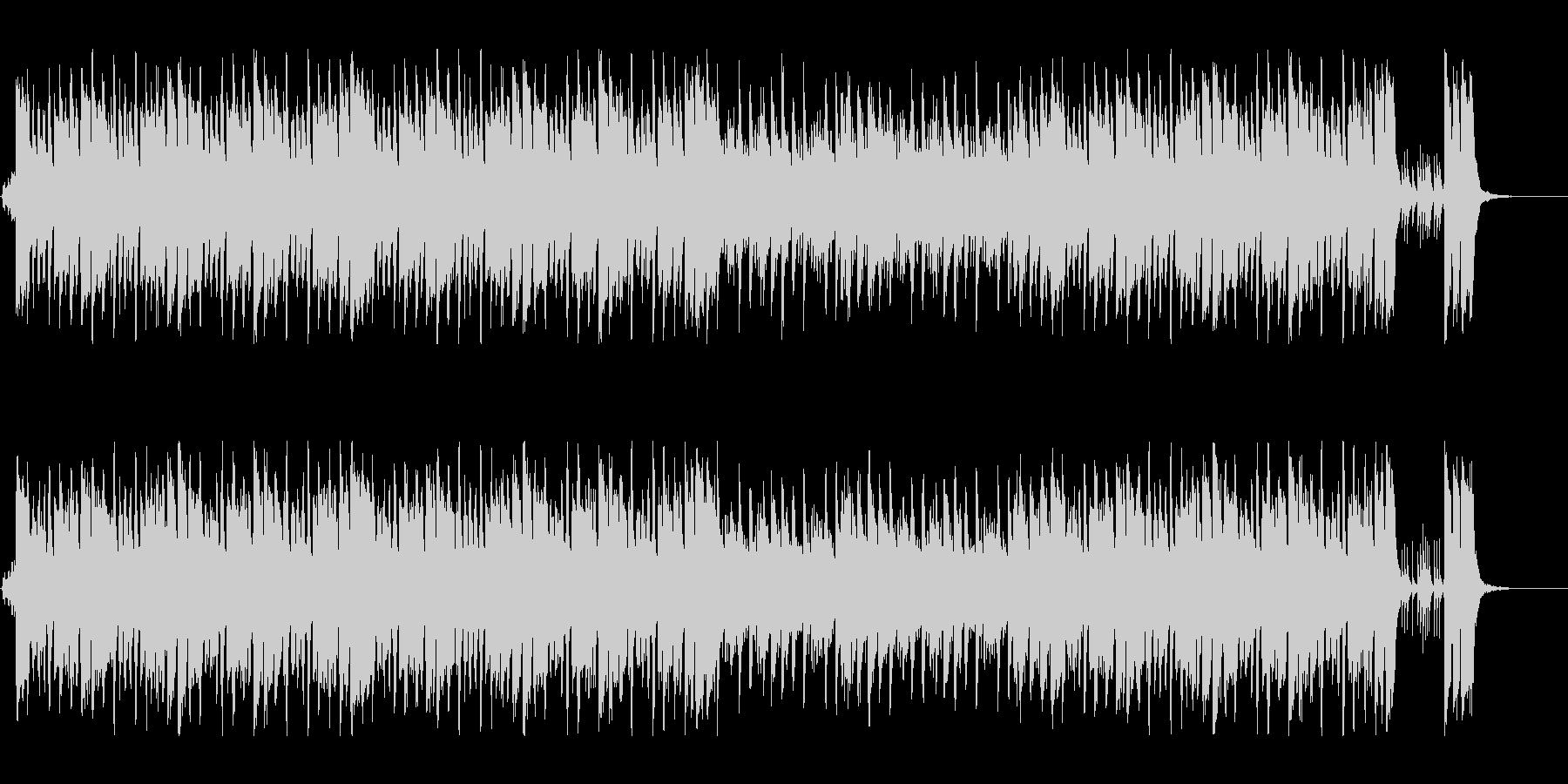 ハッピー感が溢れ出すキュートポップの未再生の波形