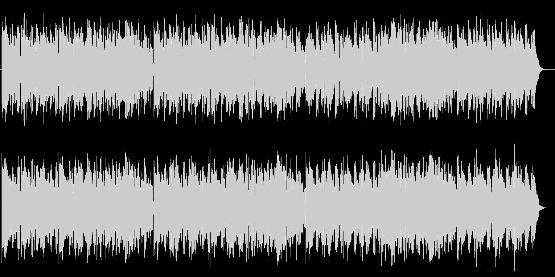 幻想的でマイナーなピアノメロディーの未再生の波形