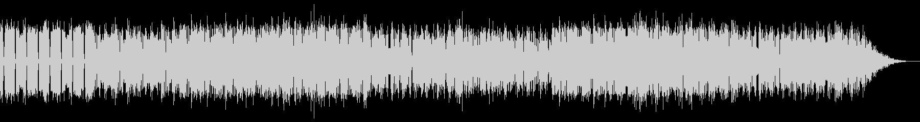 ファミコンシューティング風のBGMの未再生の波形