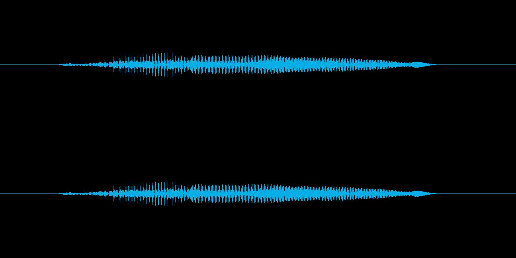 ニャー_猫声-03の再生済みの波形