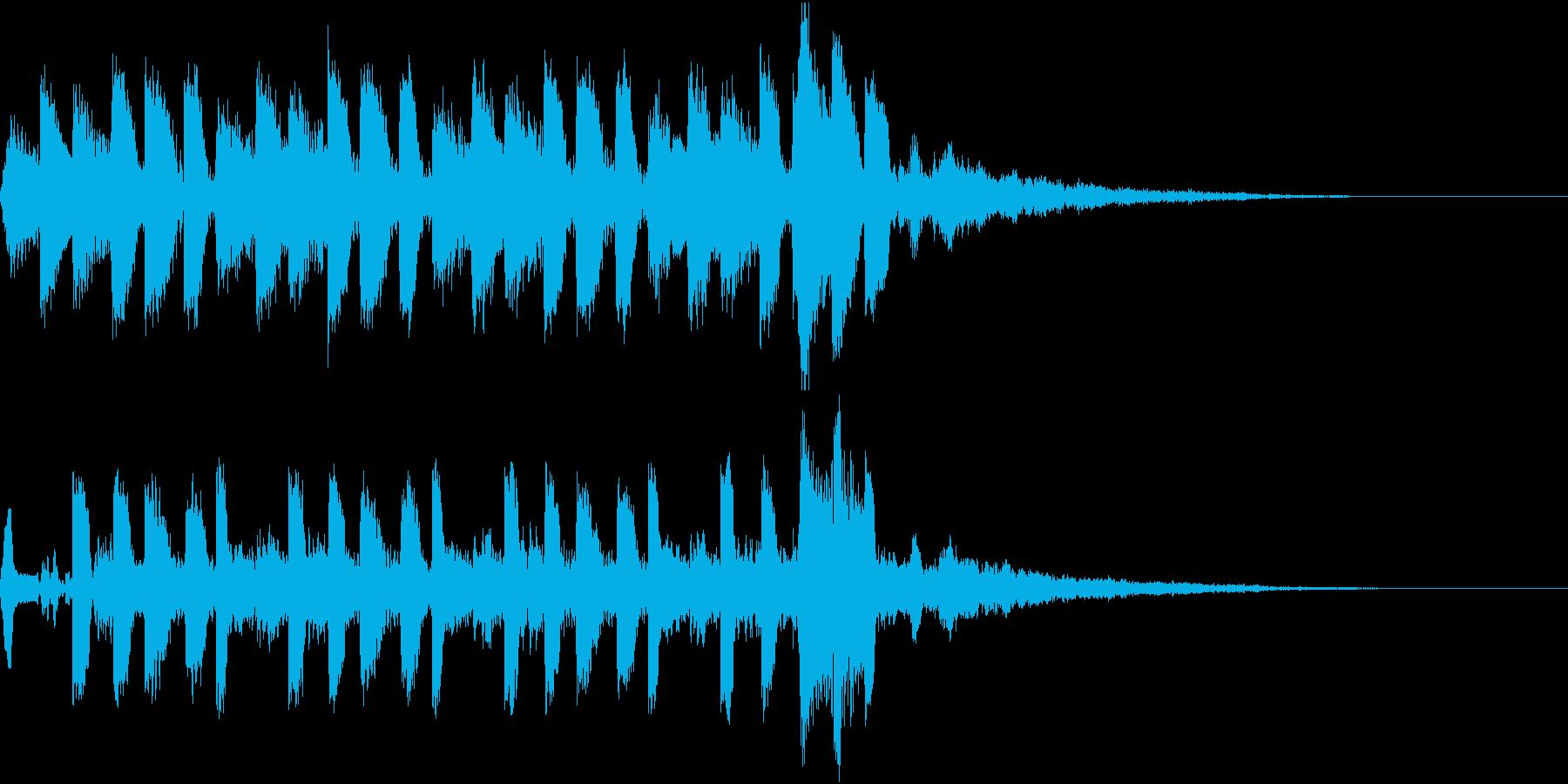 ゲージアップ ポイント 増える クリア2の再生済みの波形