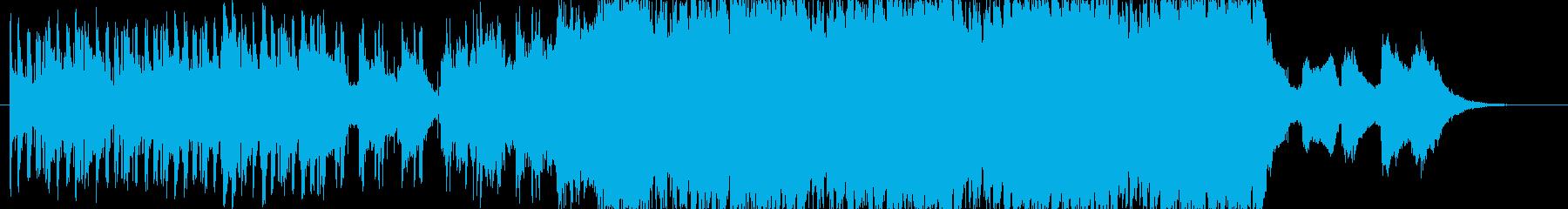 クールなゲーム音楽の再生済みの波形