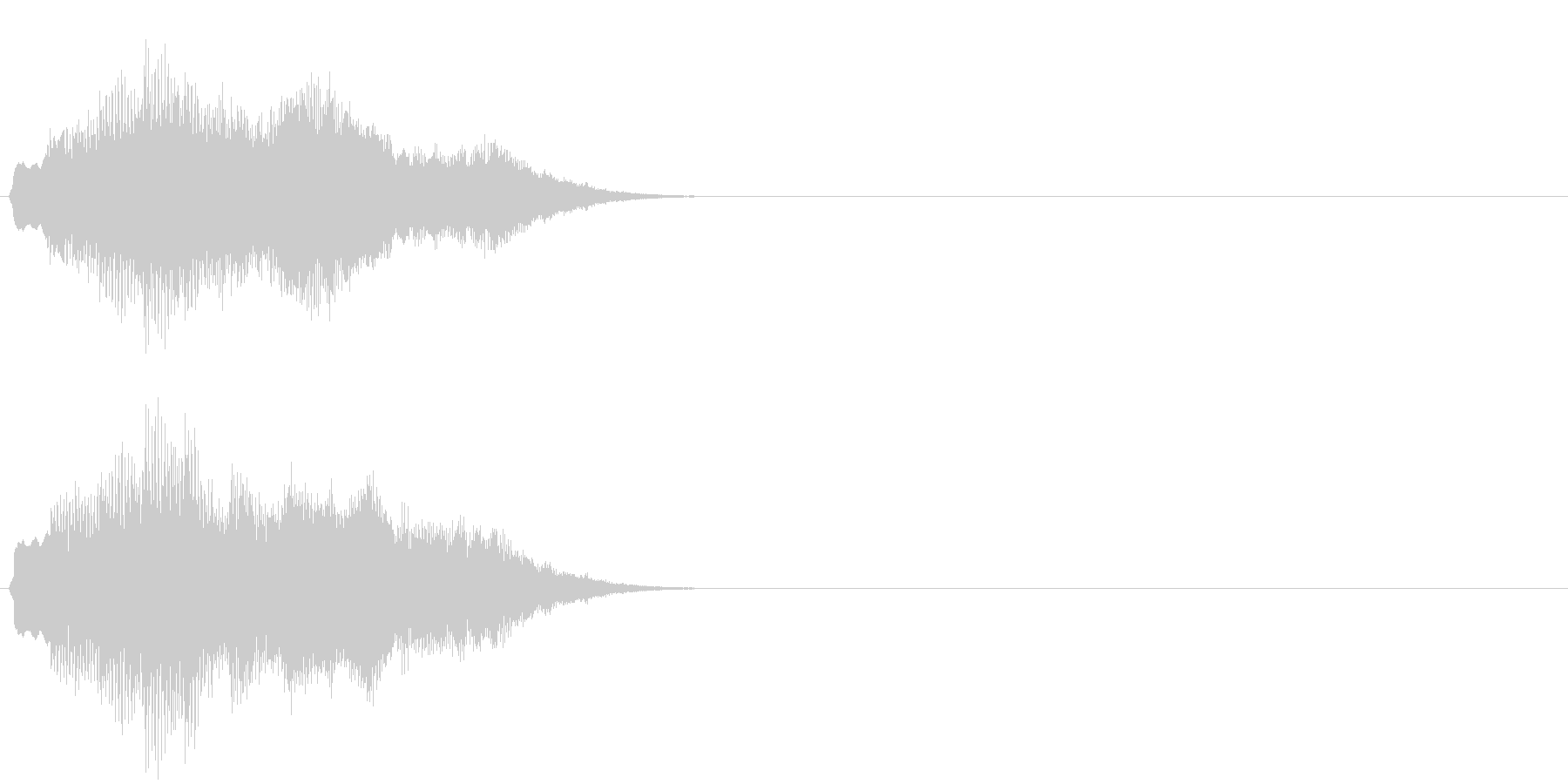 汎用 キラキラ系09(特大) 場面転換の未再生の波形