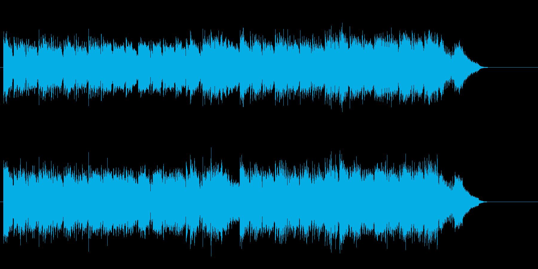 昔なつかしいあのチャイニーズ・メロディの再生済みの波形