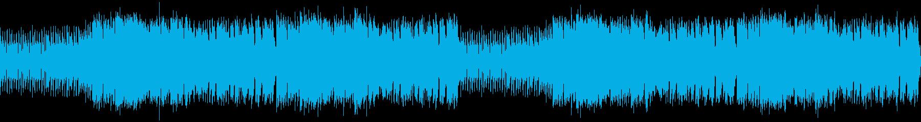 スピード感 躍動的サックスジャズビート の再生済みの波形