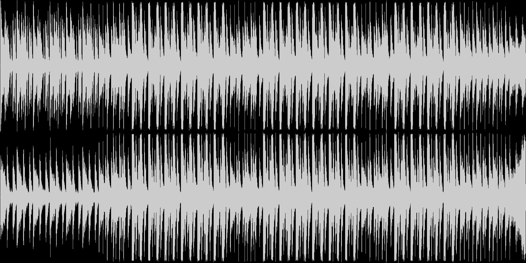 【爽やかなピアノポップ×ハウス】の未再生の波形