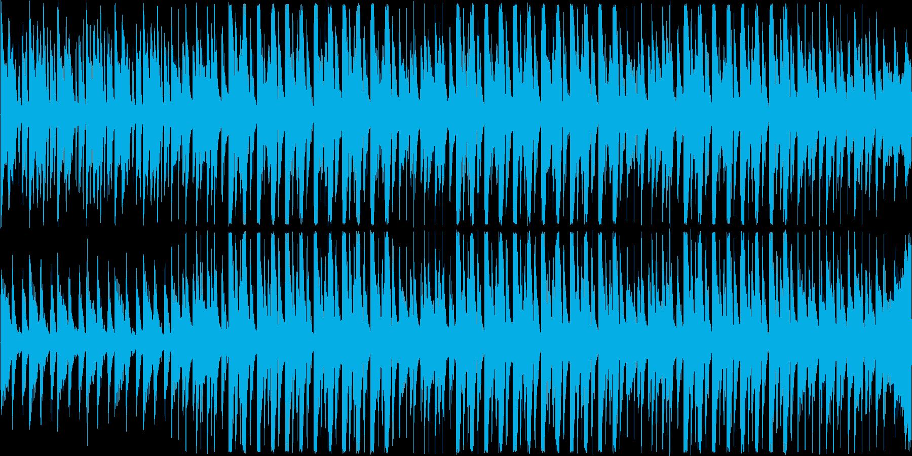 【爽やかなピアノポップ×ハウス】の再生済みの波形