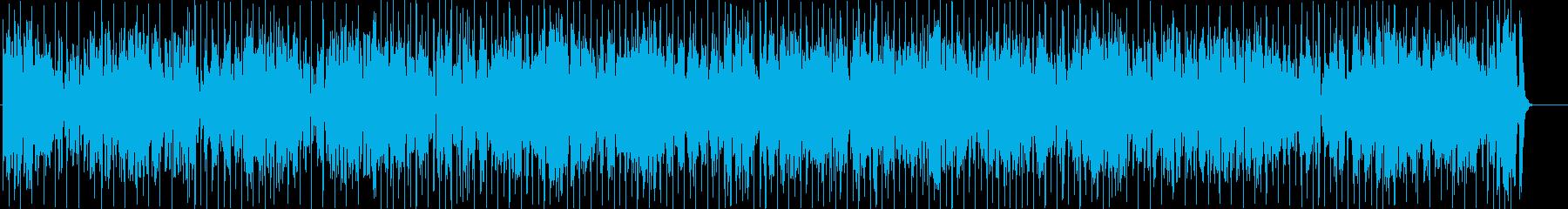 管楽器メインの愉快なフュージョンの再生済みの波形