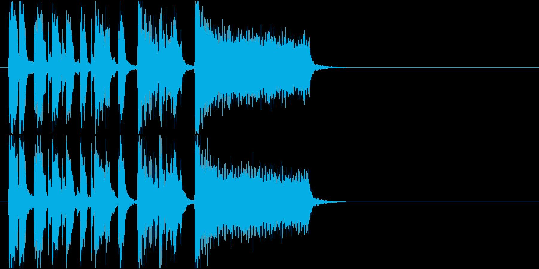 登場 ショータイム 発表 イベントの再生済みの波形