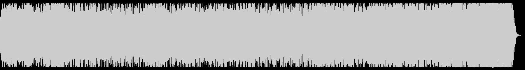 戦地へ向かうイメージのオーケストラBGMの未再生の波形
