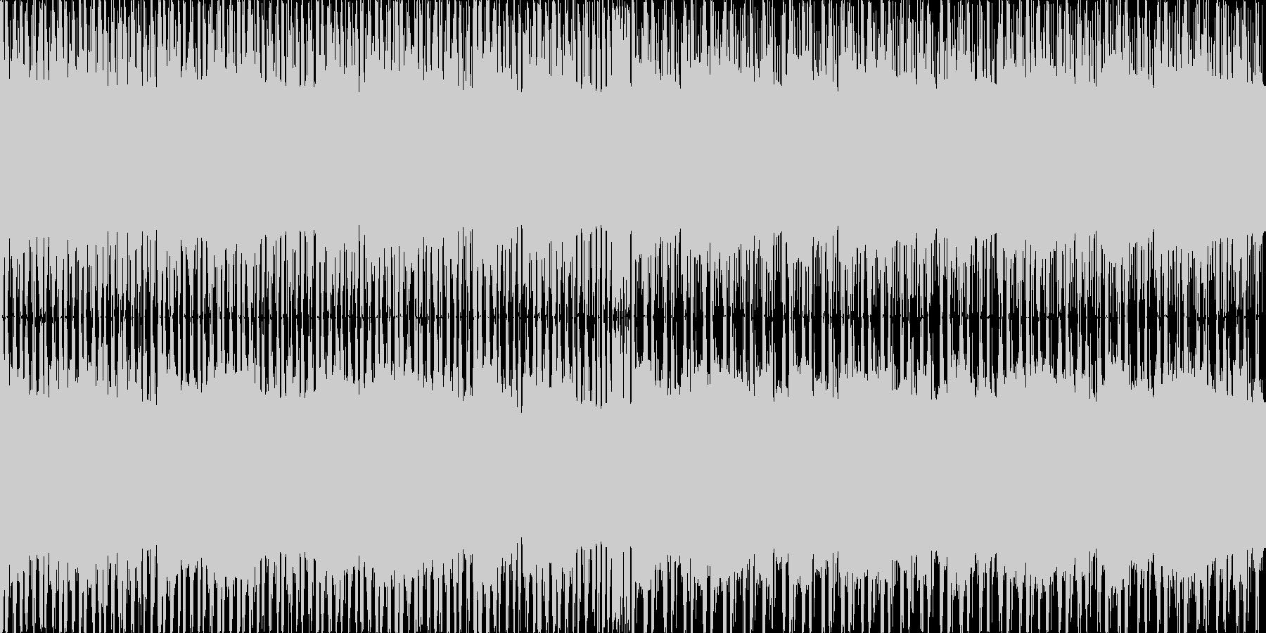 エレピがメインのレトロな雰囲気を持った…の未再生の波形