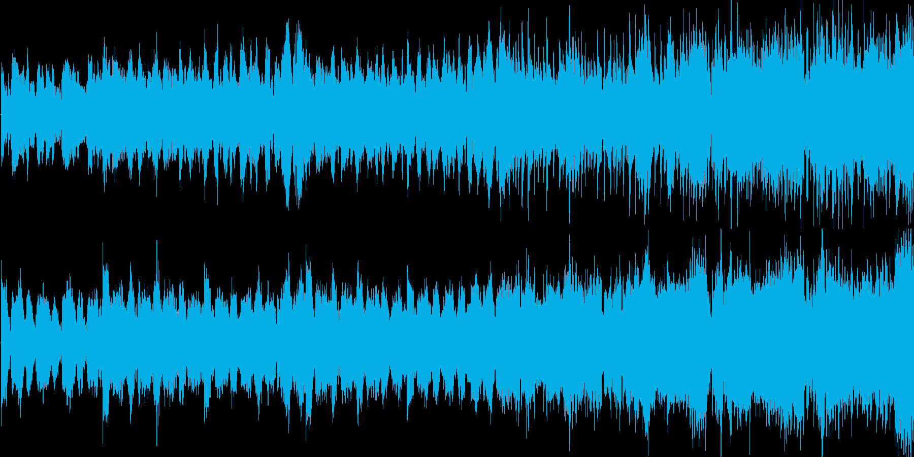 ファンタジーRPGのフィールド画面を想…の再生済みの波形
