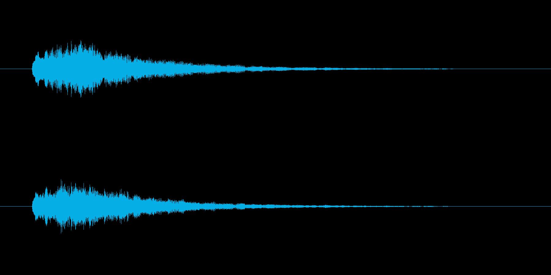 ピポピポーーン(出発、電車)の再生済みの波形