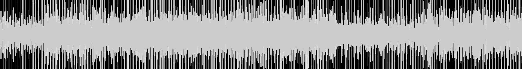グルーブ感のあるファンクの未再生の波形