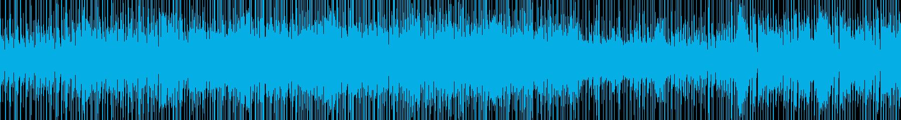 グルーブ感のあるファンクの再生済みの波形
