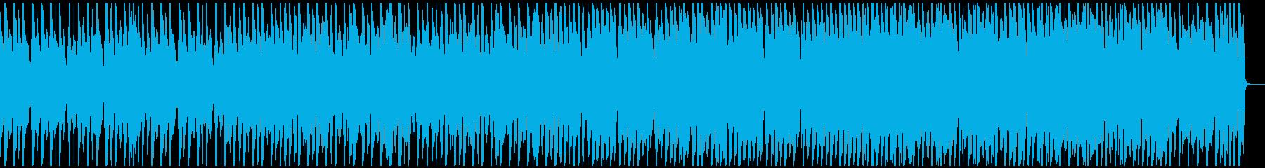 ジングルベル ゆったり南国風 ドラム抜きの再生済みの波形