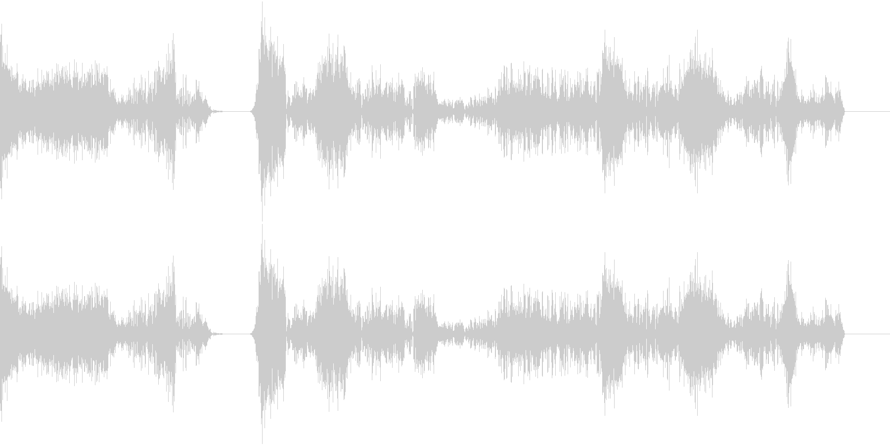 TVFX POPなザッピング音 8の未再生の波形