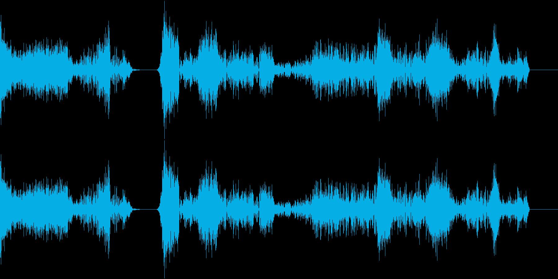 TVFX POPなザッピング音 8の再生済みの波形
