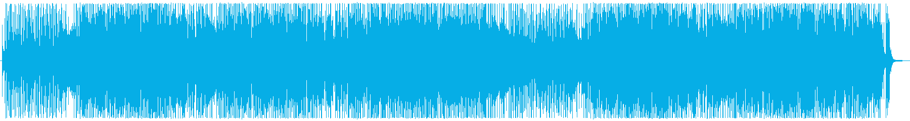サックスの軽快なフュージョンインストの再生済みの波形