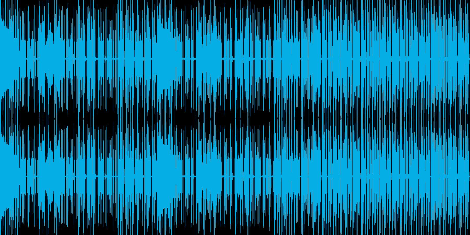 【ゲームボーイサウンド・チップチューン】の再生済みの波形