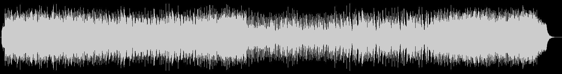 リズムに緊張感のあるオーケストラ曲の未再生の波形