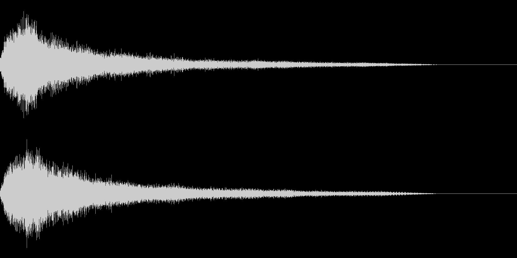 ホラー1(幽霊が現れる音)の未再生の波形