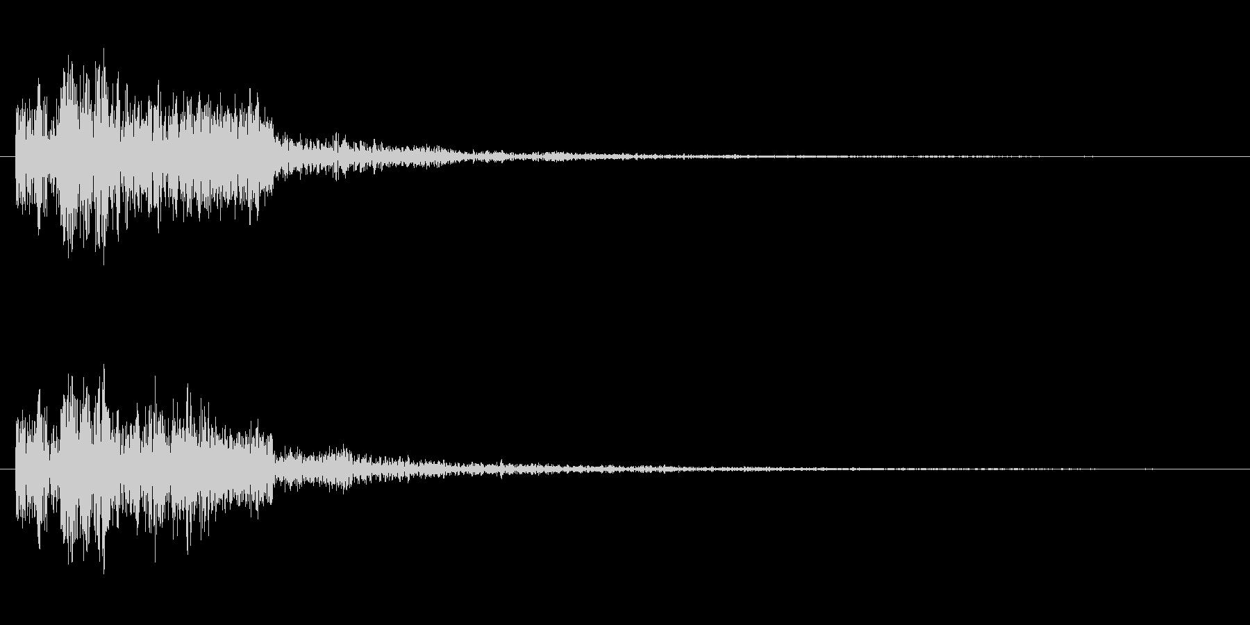 ドゥルルリの未再生の波形