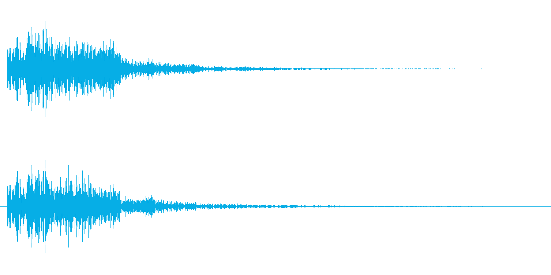 ドゥルルリの再生済みの波形