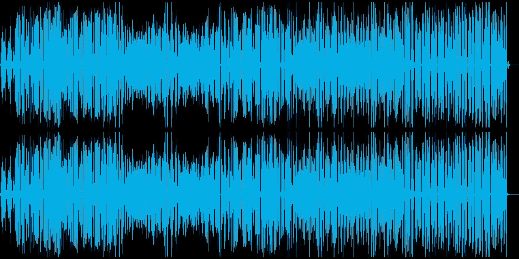 昔の映像にレトロ蓄音機風ジョップリンの再生済みの波形