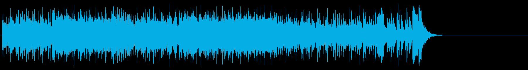 フレッシュ気分のポップ(サビ~エンド)の再生済みの波形