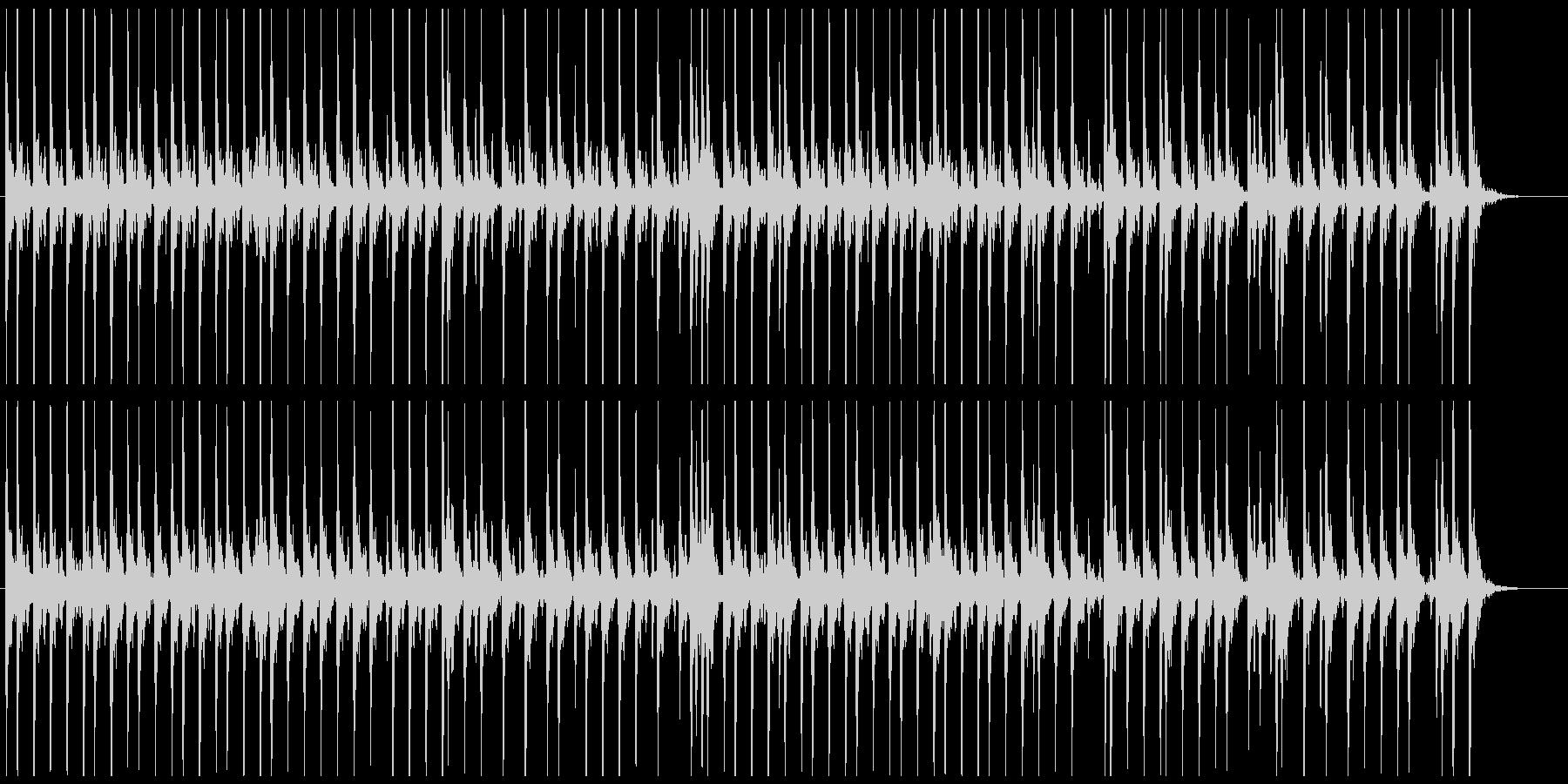 相撲の寄せ太鼓風SE その4の未再生の波形