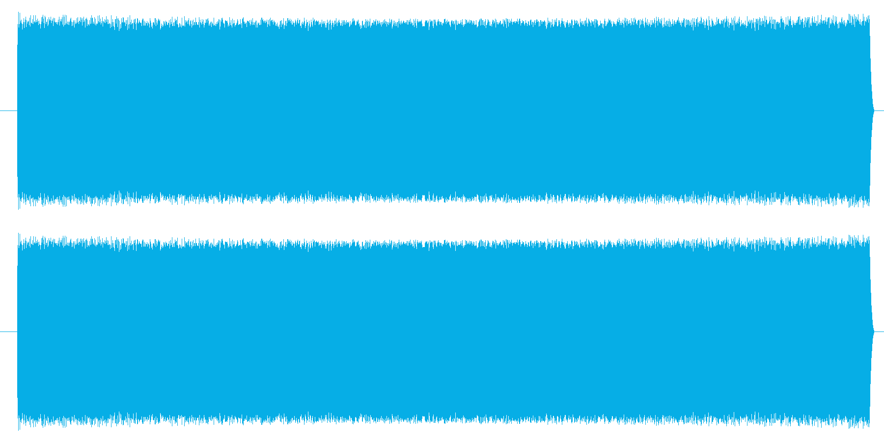 【NES 汎用01-17(スウィープ)】の再生済みの波形