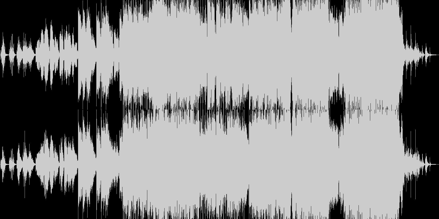 クラシック風な切ない雰囲気のバラードの未再生の波形