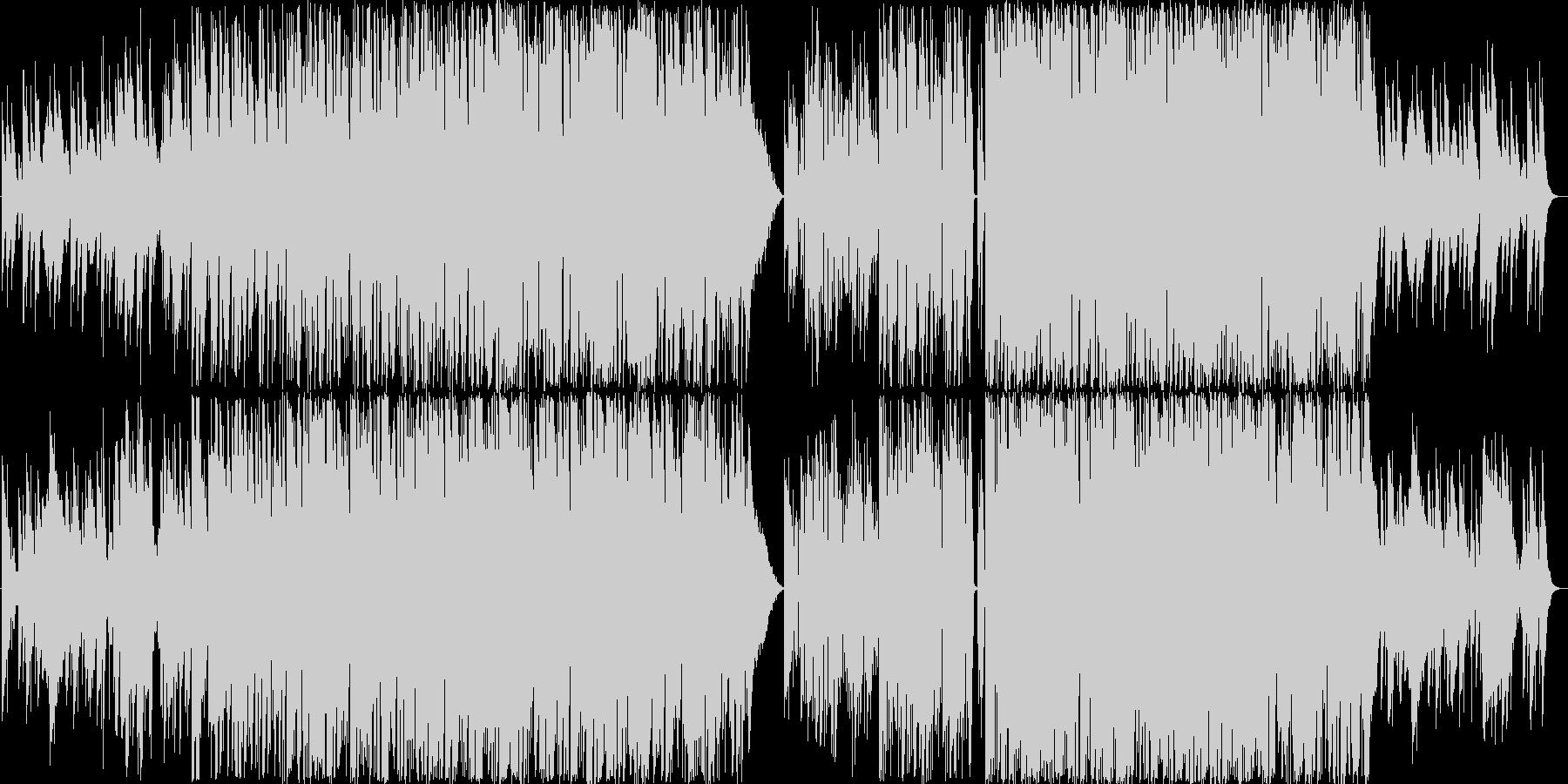 エスニックなテクノです。生音系となって…の未再生の波形