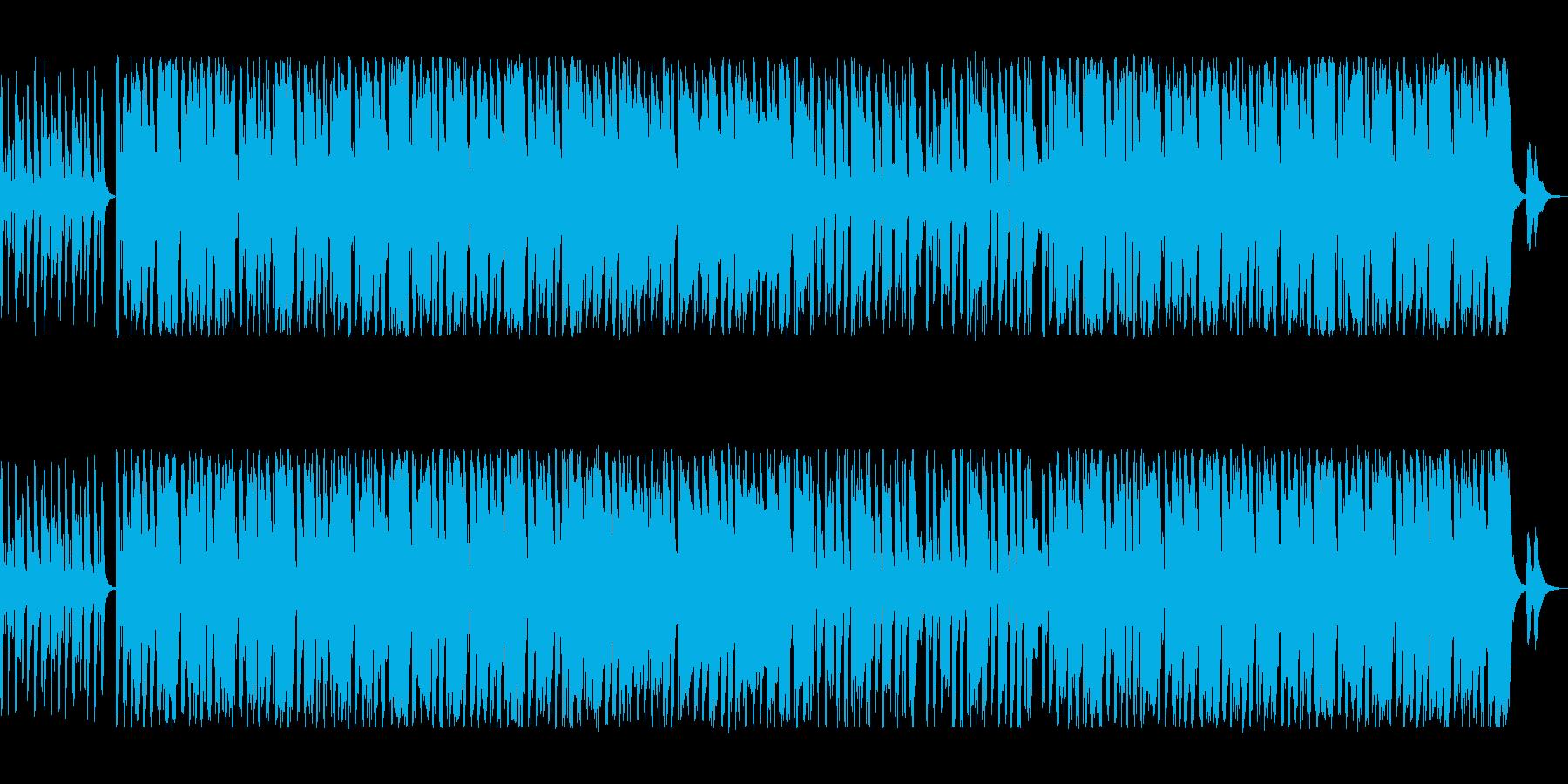 優しく可愛らしいイージーリスニングの再生済みの波形
