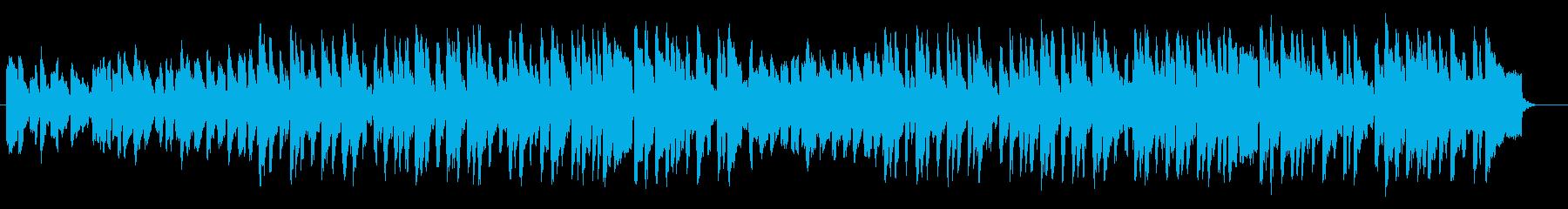 神秘的な琴が特徴的なの和洋折衷のBGMの再生済みの波形
