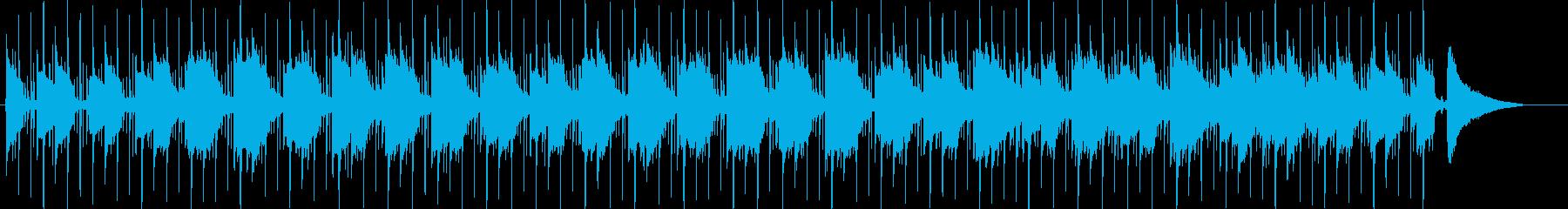 クールな雰囲気のバラードの再生済みの波形