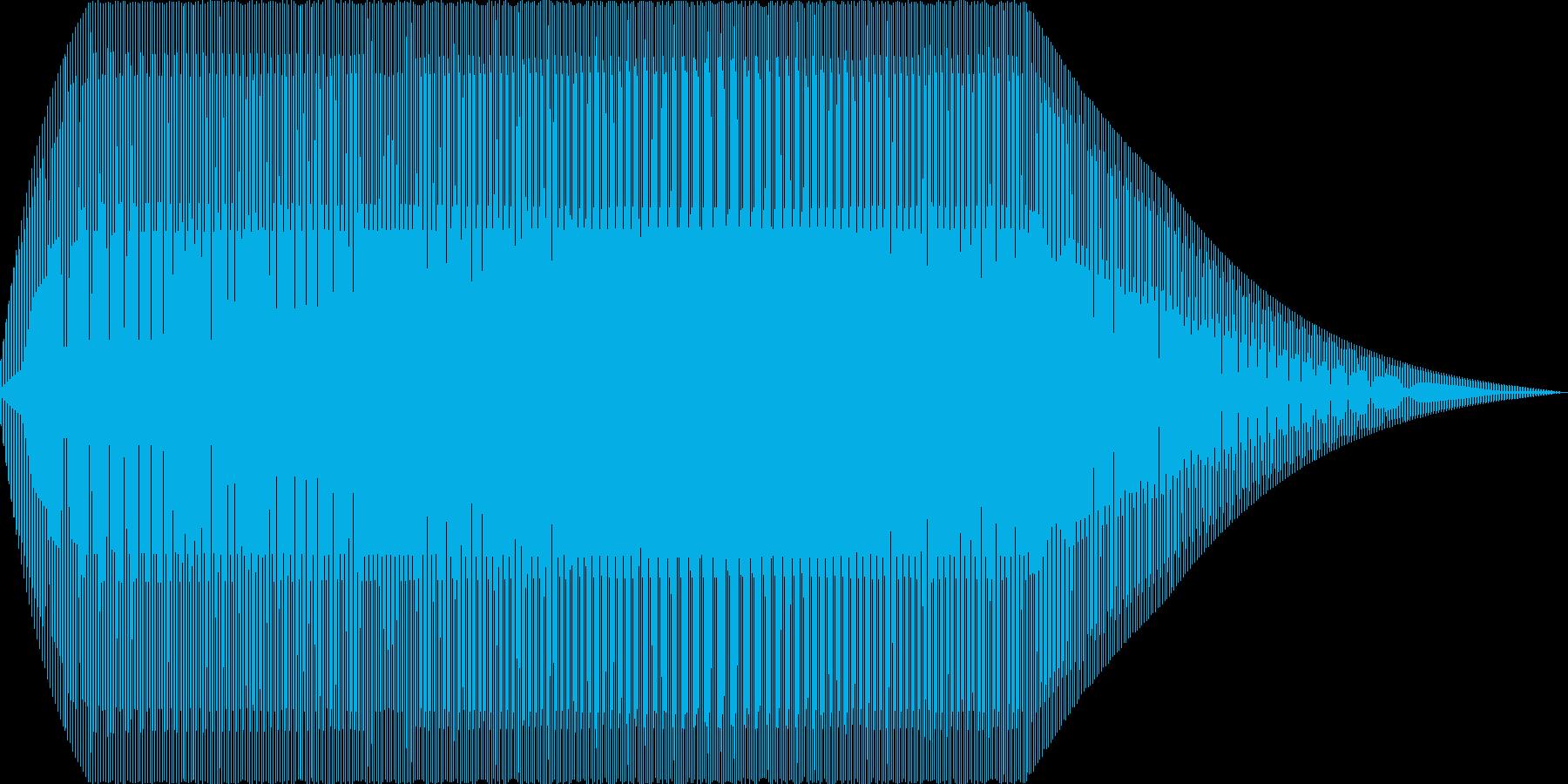 ニャー(猫 電子音 赤子)の再生済みの波形